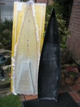 Black Pearl 12_Rumpf mit dernoch nicht ausgeformten Deckschale