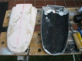 Black Pearl 14_Deckhaube mit Form