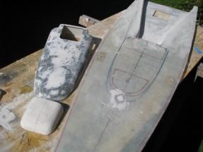 Black Pearl 16_Deck mit aufbau und Schiebeluk