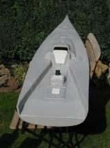 Black Pearl 29_Der Bootskoerper ist fertig verschliffen und mit Grundierung versehen