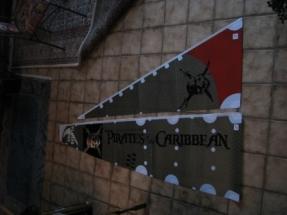 Black Pearl IMG_1832 Die Segel sind mit den Logos versehen und koennen angeschlagen werden